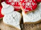 Рецепта Коледни сладки със захарна глазура